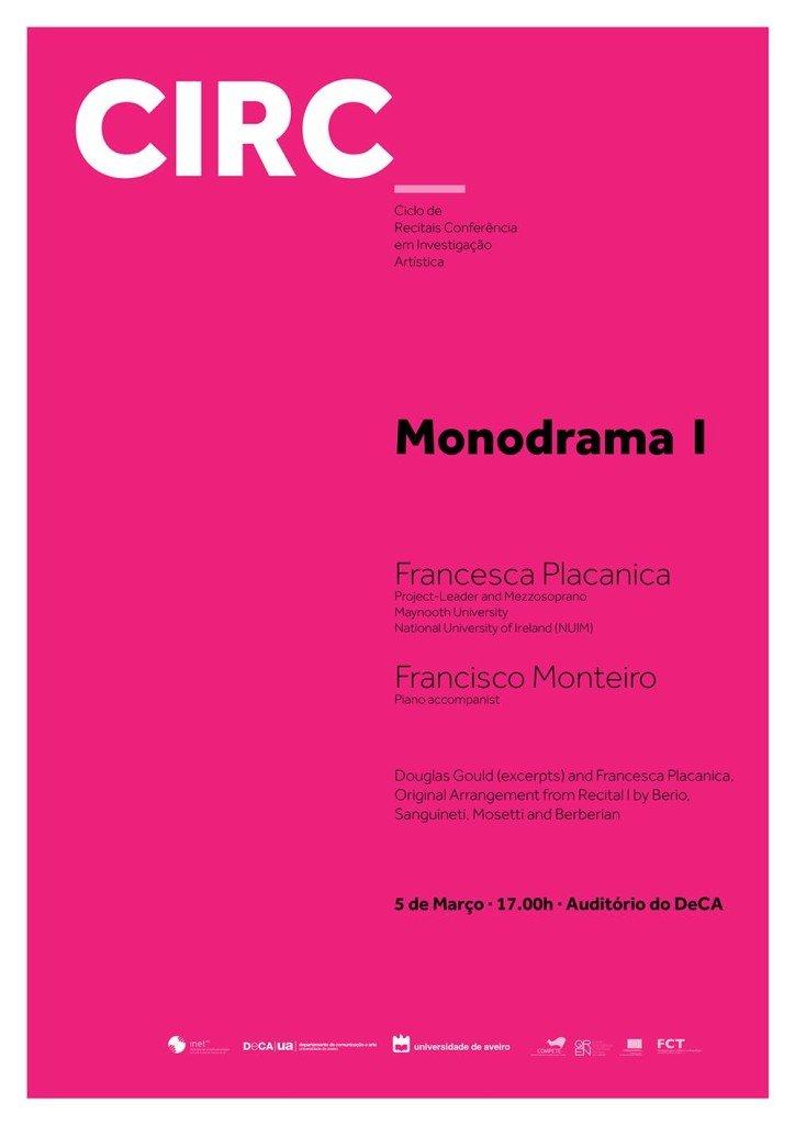 Monodrama I @ DeCA